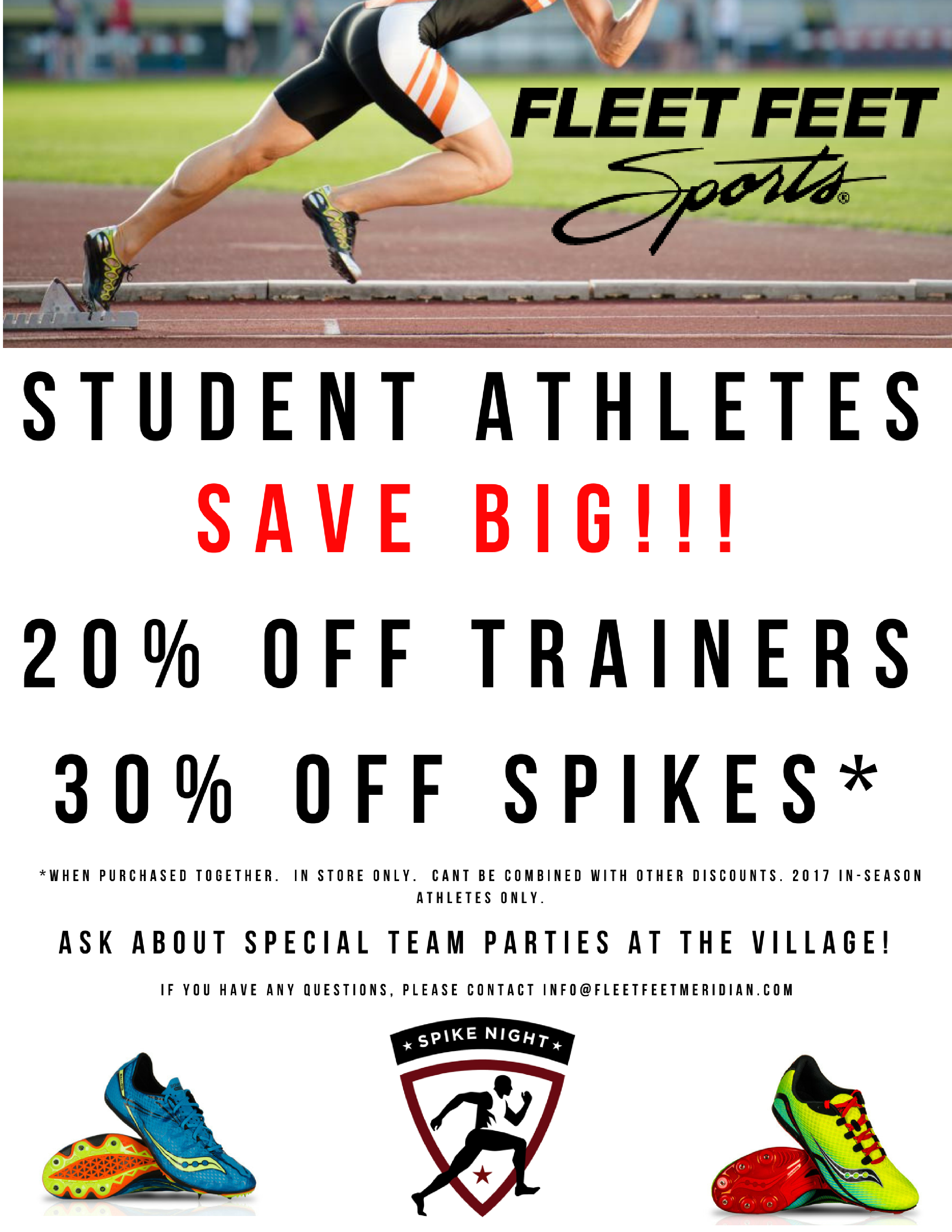 Student Athlete Special